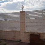 montaje de una valla en Rivas
