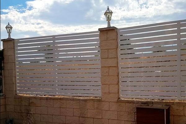 instalación de vallas en Rivas