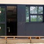 instalación de paneles de fachada