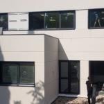 ventanas y paneles fachada